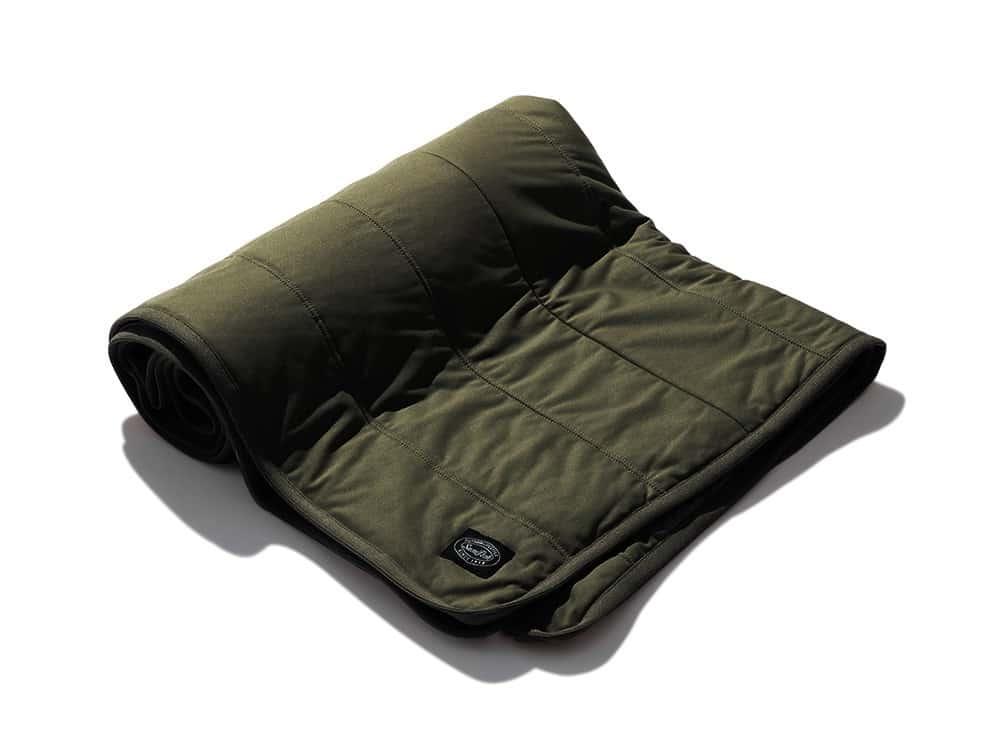 Flexible Insulated Blanketのモスグリーン