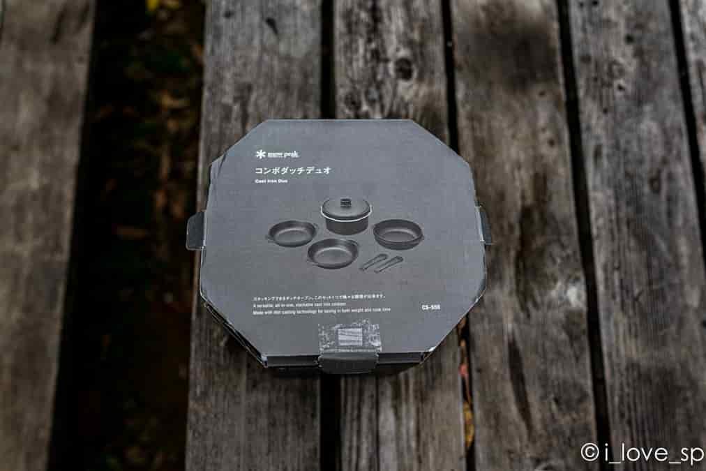 コンボダッチデュオの外箱の写真