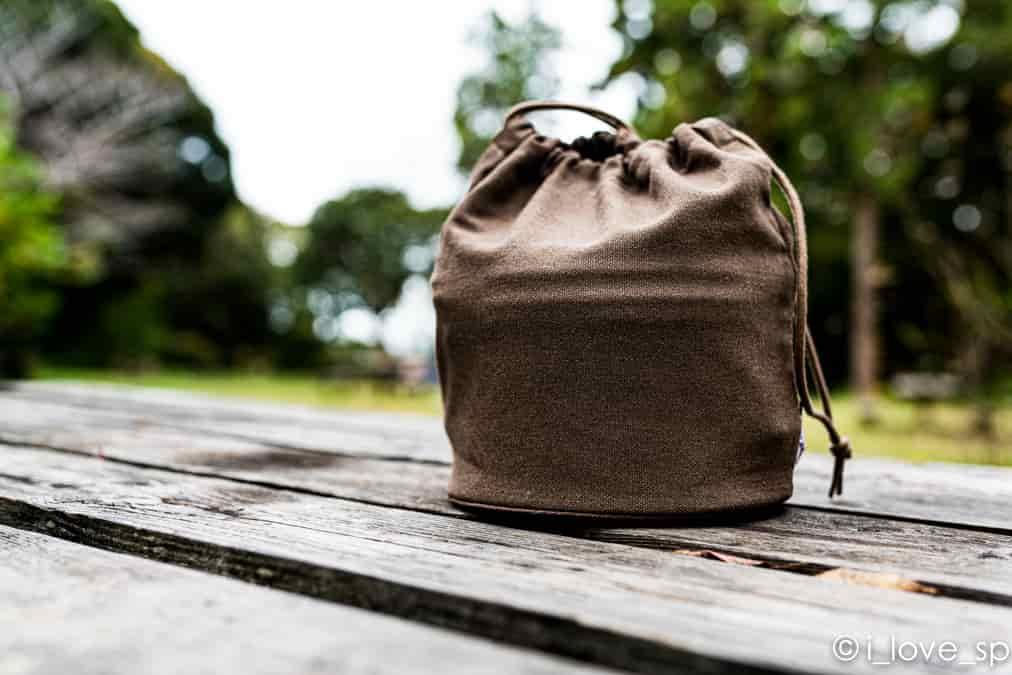 コンボダッチデュオの収納袋の写真
