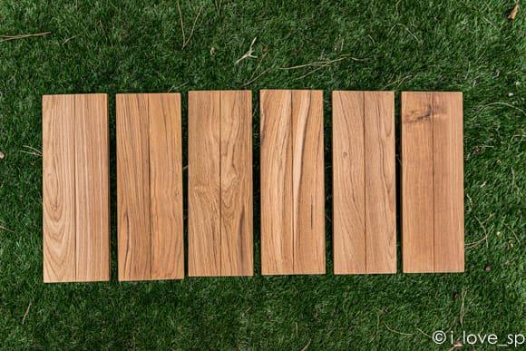 高級木材のチーク材