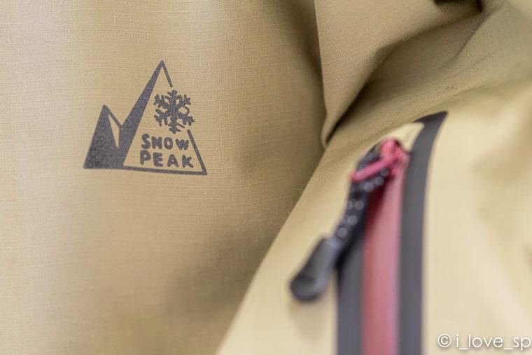 ジャケットのロゴ