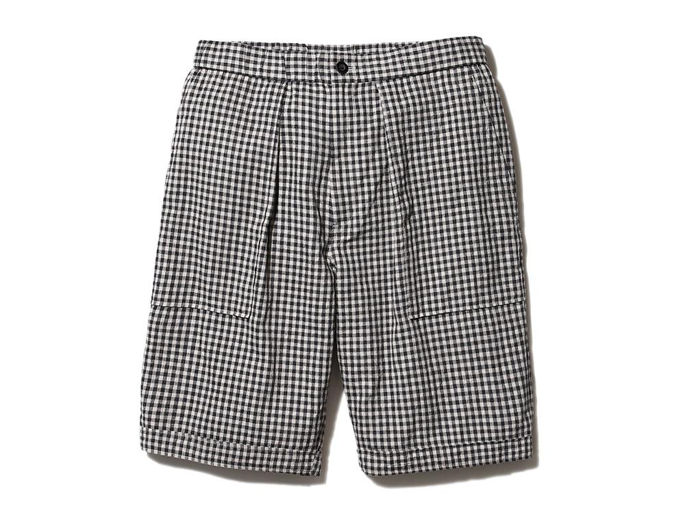 C/L Panama Easy shorts ブラックチェック