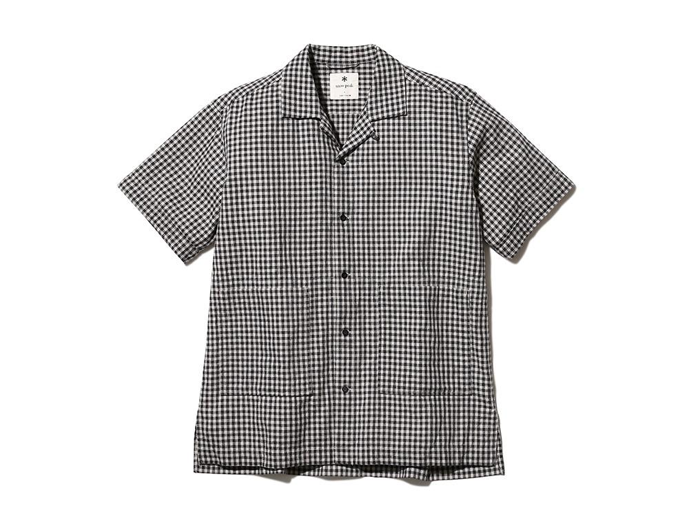 C/L Panama シャツ ブラックチェック
