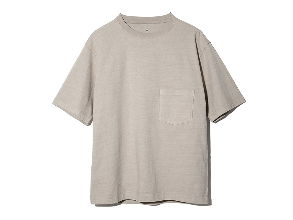 Heavy Cotton Tshirt ベージュ