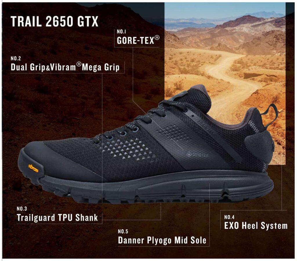 TRAIL 2650 GTXの特徴