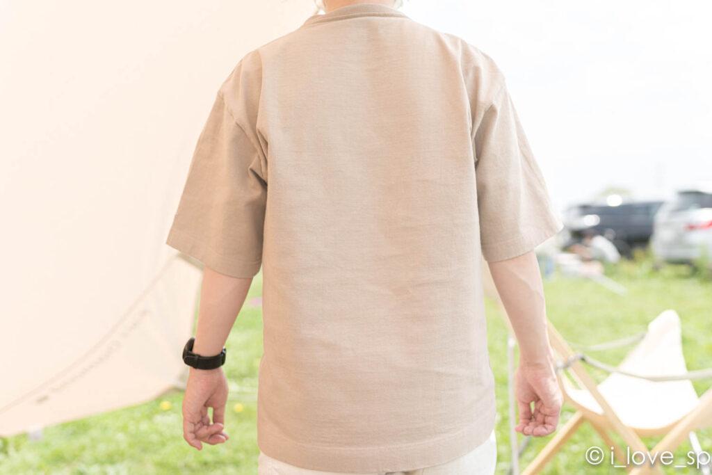 Heavy Cotton Tshirtの後ろ面