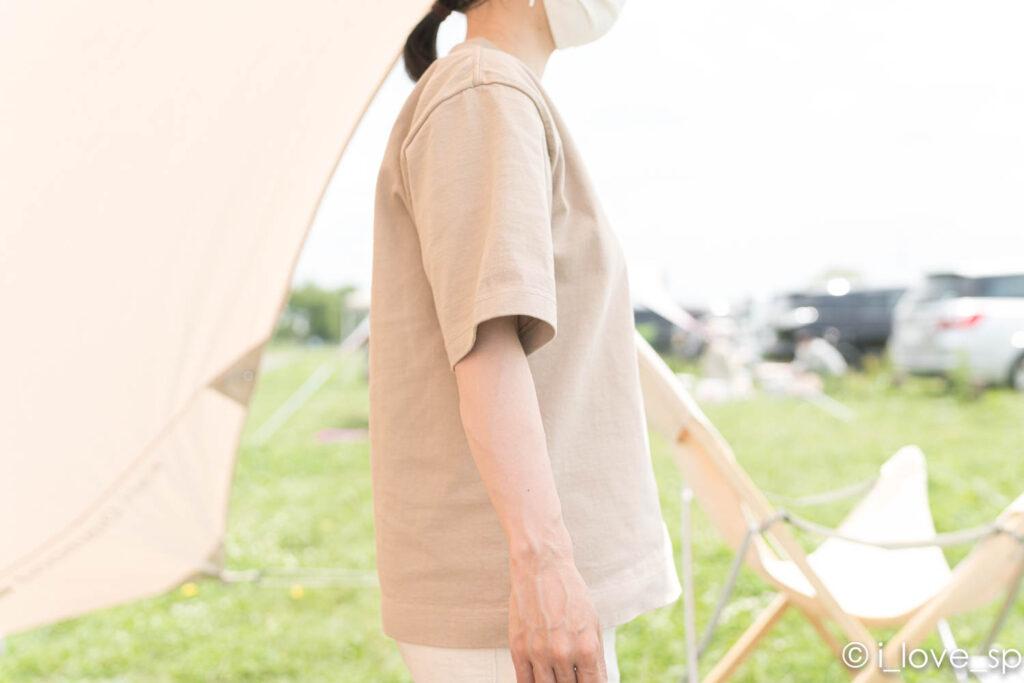 Heavy Cotton Tshirtの側面