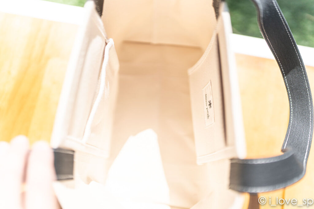トートバッグMの内ポケット
