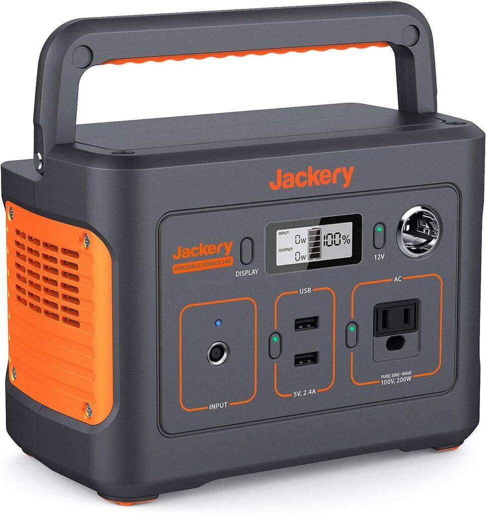 Jackery(ジャクリー)ポータブル電源240