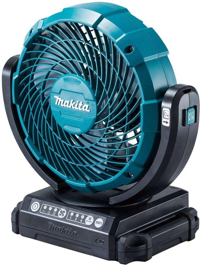 makita充電式ファンのデザイン
