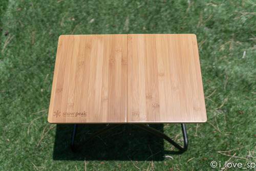 Myテーブルはワンアクションテーブルの中で最小サイズ