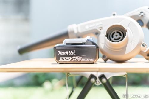 マキタのバッテリーをフィールドギアに使用