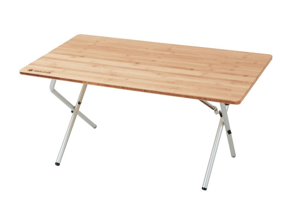 ワンアクションローテーブル竹のデザイン