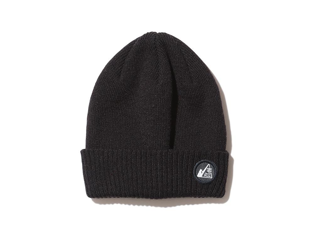 Knit Beanieブラックのデザイン