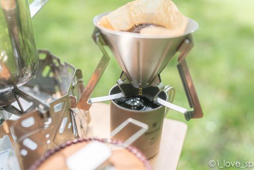 フィールドバリスタ ドリッパーでコーヒー