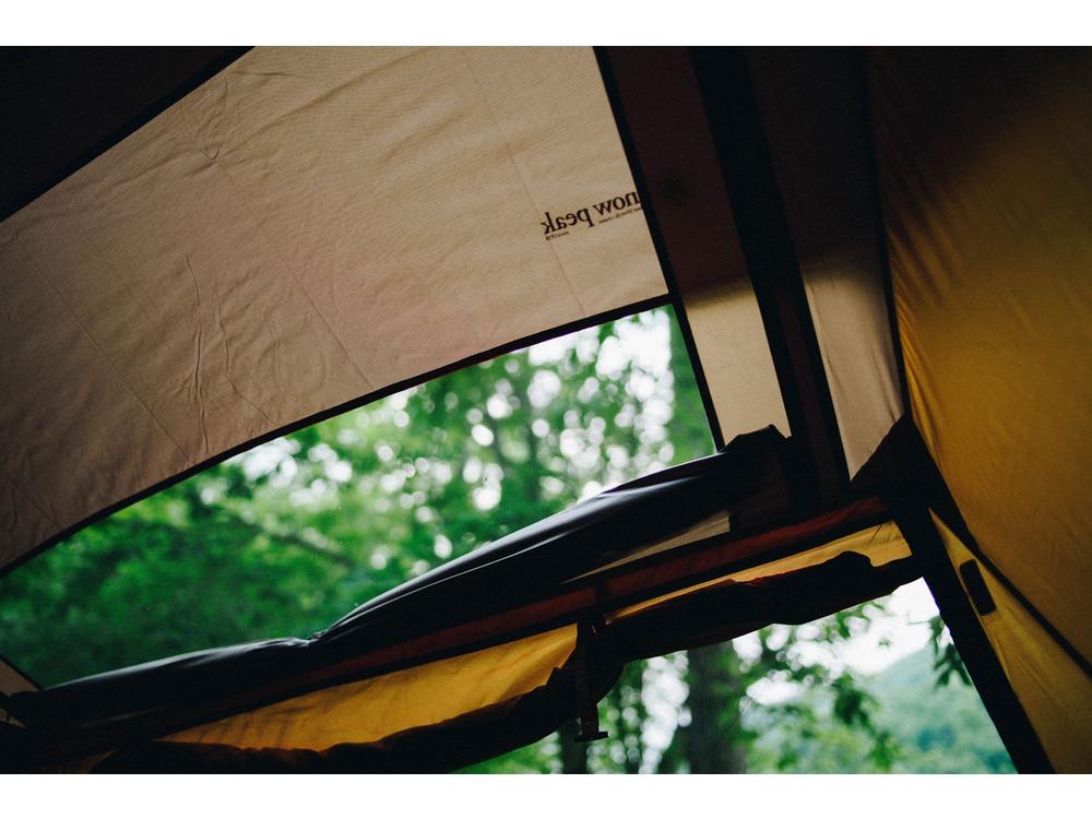 豊富なメッシュ窓