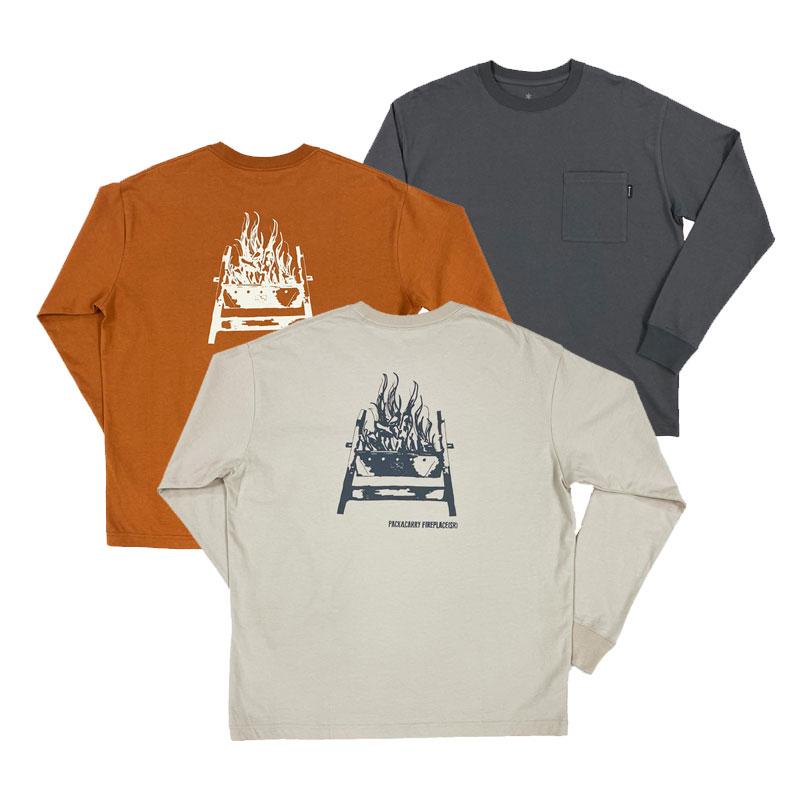 Pack&Carry Fireplace SR PT T-Shirt S BK